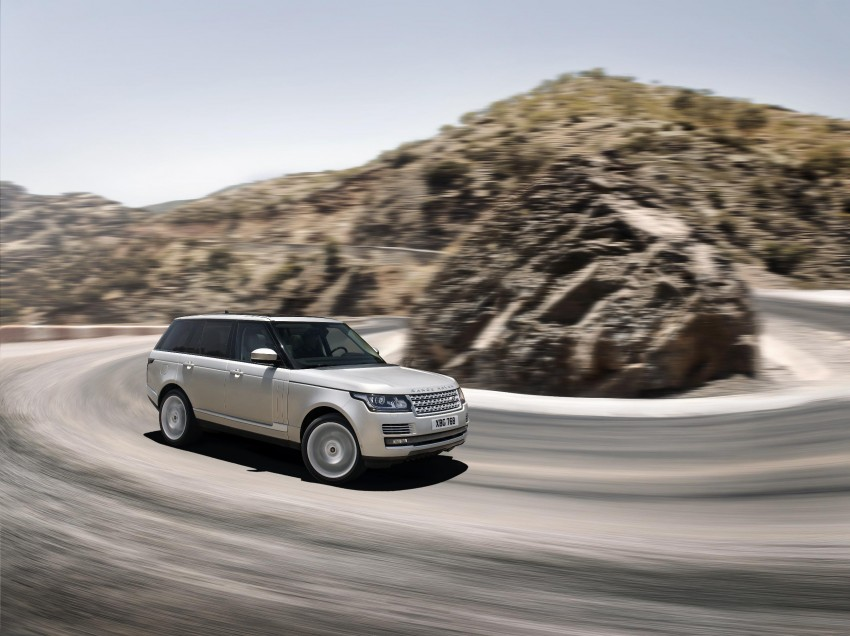Fourth-generation Range Rover globally launched! Image #129923
