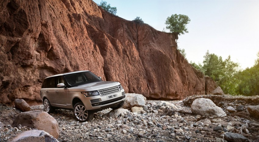 Fourth-generation Range Rover globally launched! Image #129925