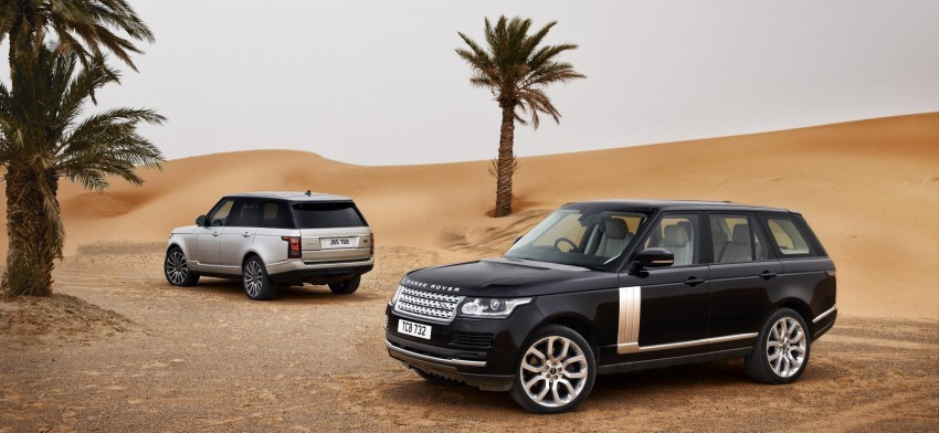 Fourth-generation Range Rover globally launched! Image #129926