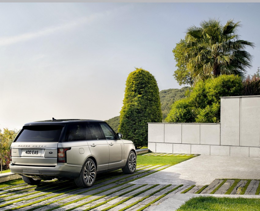 Fourth-generation Range Rover globally launched! Image #129927