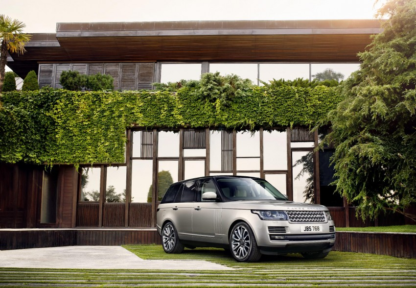 Fourth-generation Range Rover globally launched! Image #129928