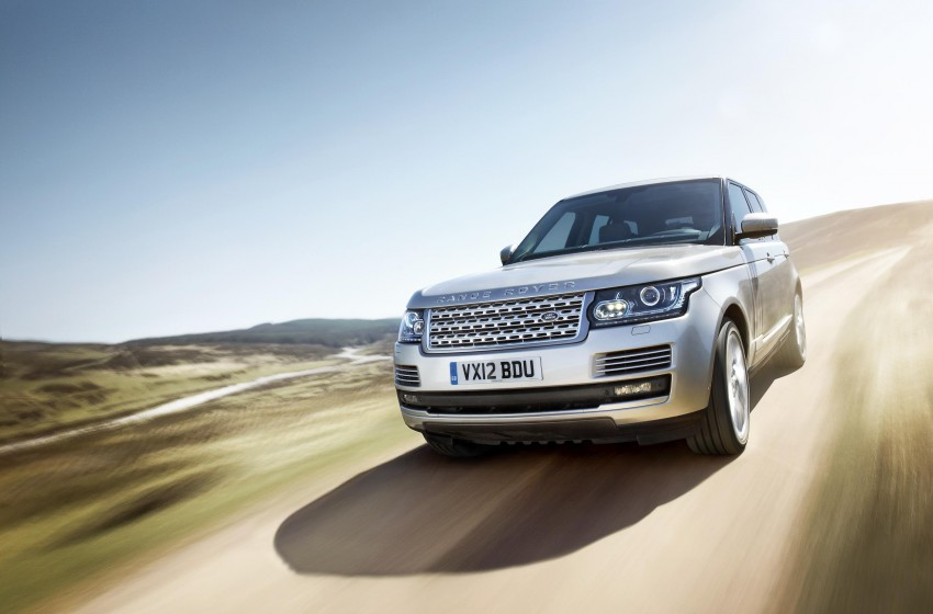 Fourth-generation Range Rover globally launched! Image #129929