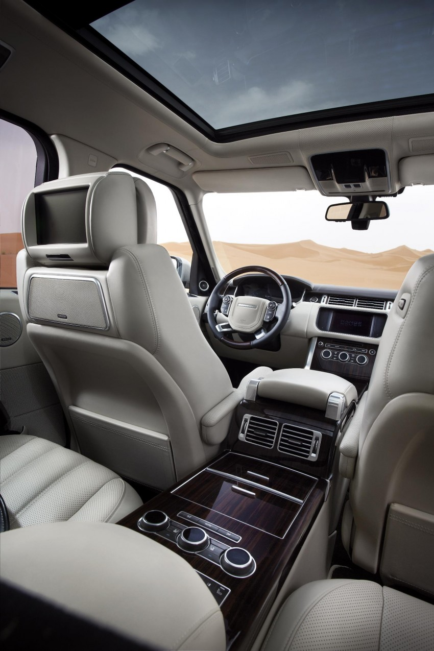 Fourth-generation Range Rover globally launched! Image #129930