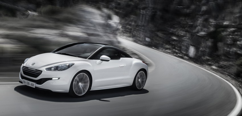 Peugeot RCZ facelift: first photos, attending Paris Image #130751
