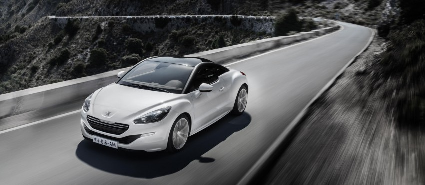 Peugeot RCZ facelift: first photos, attending Paris Image #130752