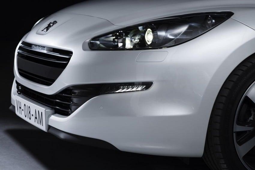 Peugeot RCZ facelift: first photos, attending Paris Image #130755