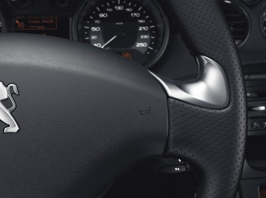 Peugeot RCZ facelift: first photos, attending Paris Image #130771