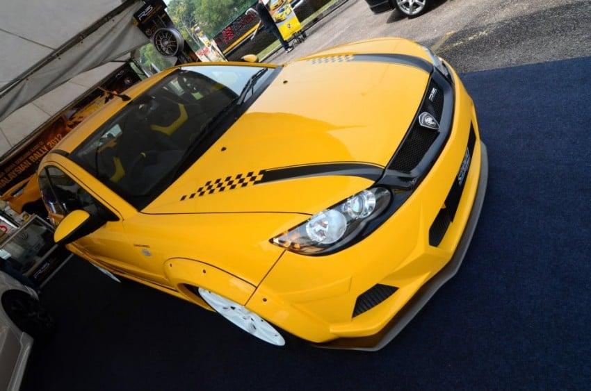 Proton Satria Neo S2000 Edition Supercharged Concept at Plaza Angsana JB Image #118235