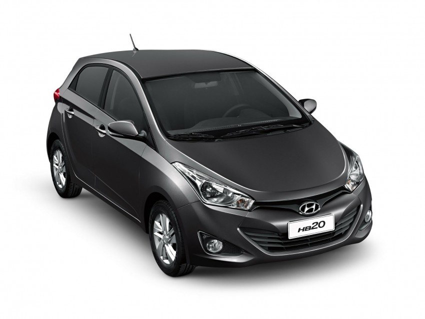 Hyundai HB20X crossover joins the Brazilian line-up Image #137760