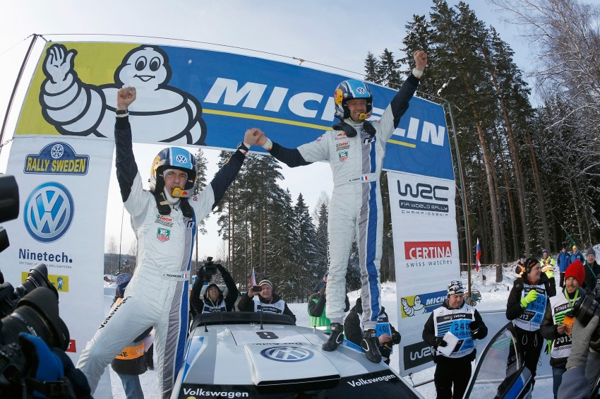 Volkswagen Polo R takes maiden WRC win in Sweden Image #154395