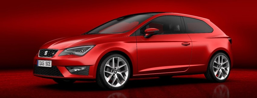 SEAT Leon SC – shorter, lower, wider than five-door Image #153826