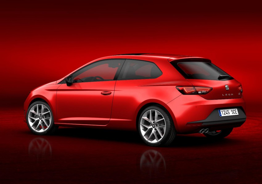 SEAT Leon SC – shorter, lower, wider than five-door Image #153827