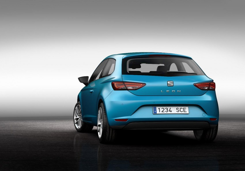 SEAT Leon SC – shorter, lower, wider than five-door Image #153834