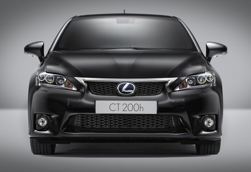 Lexus CT 200h F-Sport: bodykit and sportier suspension Image #73665