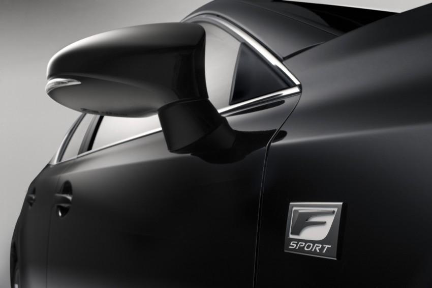 Lexus CT 200h F-Sport: bodykit and sportier suspension Image #73668