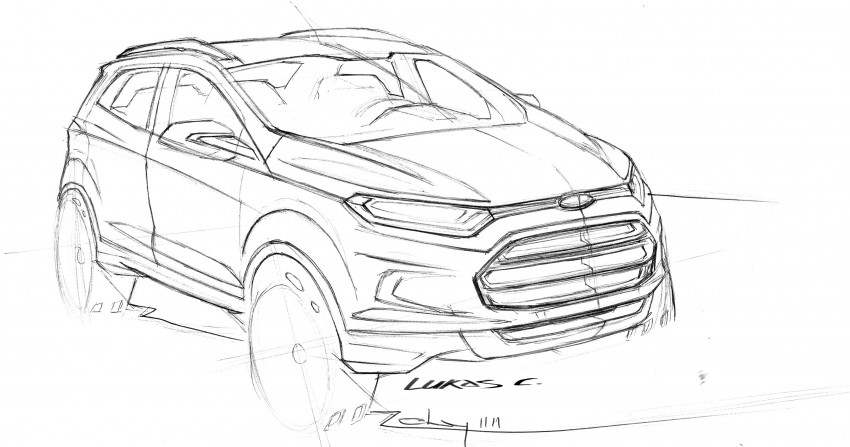 Ford EcoSport SUV debuts in Delhi Auto Expo – global offering to eventually enter around 100 markets Image #82183