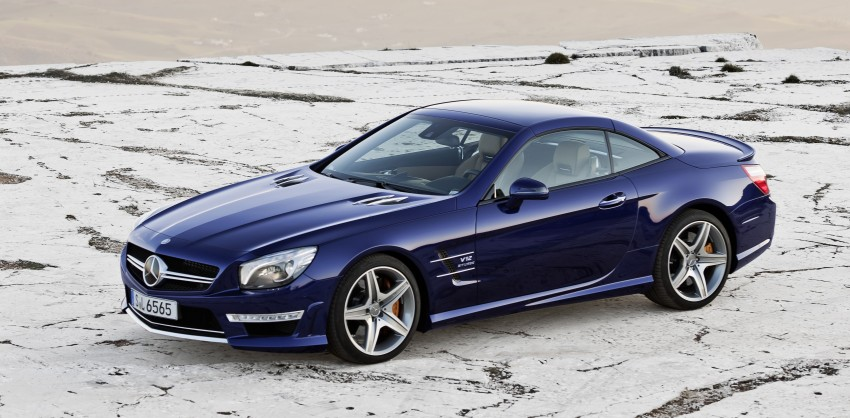 Mercedes-Benz SL 65 AMG: 650 hp and 1,000 Nm Image #94701
