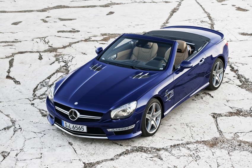 Mercedes-Benz SL 65 AMG: 650 hp and 1,000 Nm Image #94711
