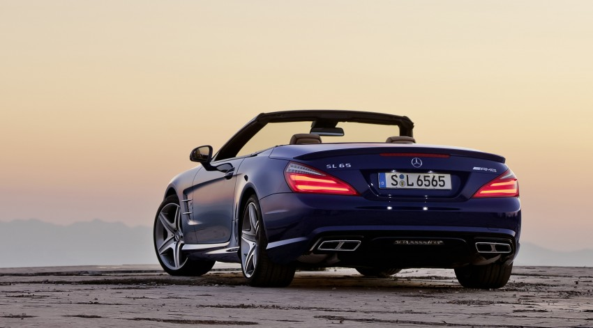 Mercedes-Benz SL 65 AMG: 650 hp and 1,000 Nm Image #94699