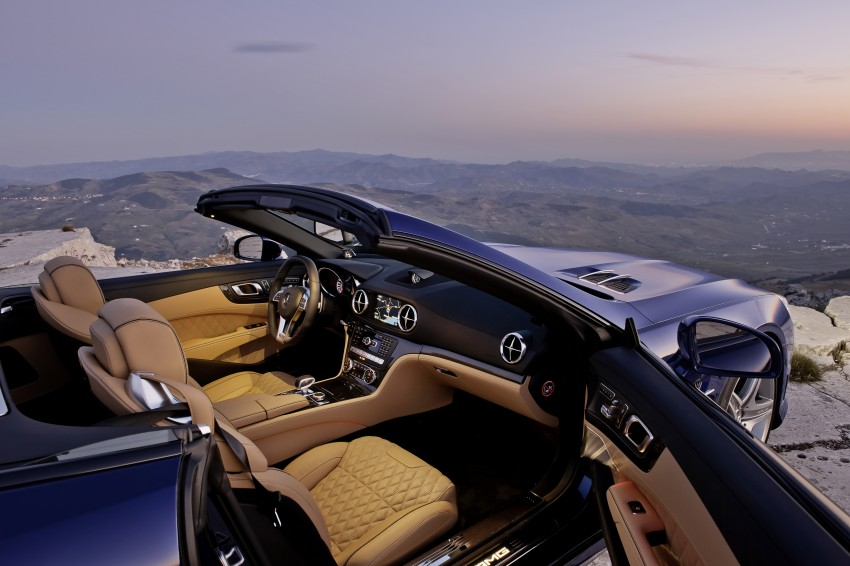 Mercedes-Benz SL 65 AMG: 650 hp and 1,000 Nm Image #94710