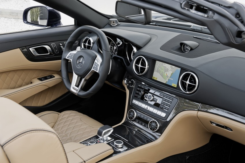 Mercedes-Benz SL 65 AMG: 650 hp and 1,000 Nm Image #94709