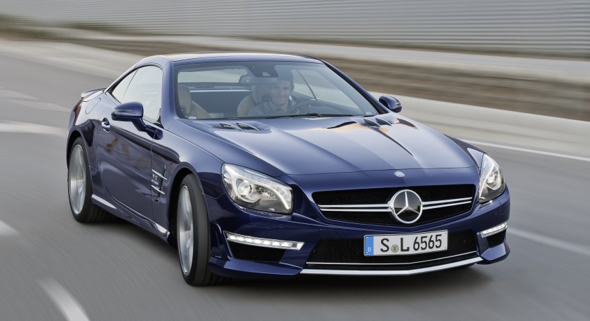 Mercedes-Benz SL 65 AMG: 650 hp and 1,000 Nm Image #94712