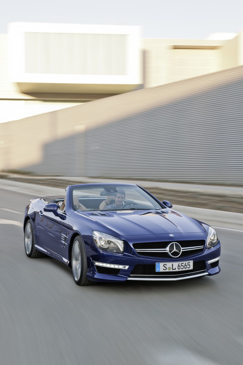 Mercedes-Benz SL 65 AMG: 650 hp and 1,000 Nm Image #94707