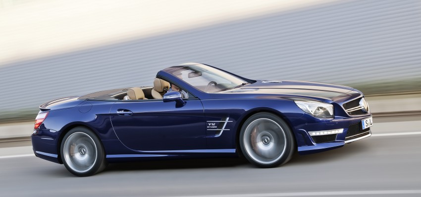 Mercedes-Benz SL 65 AMG: 650 hp and 1,000 Nm Image #94708