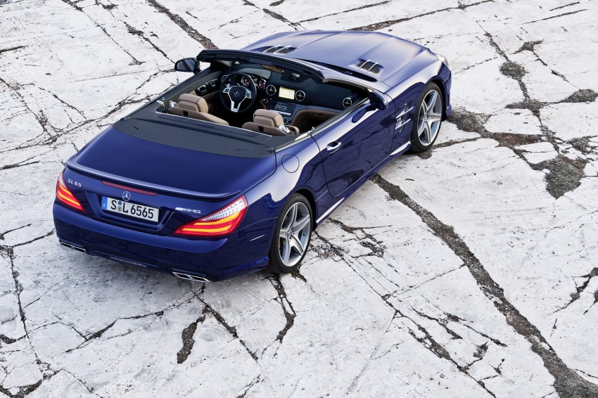 Mercedes-Benz SL 65 AMG: 650 hp and 1,000 Nm Image #94702