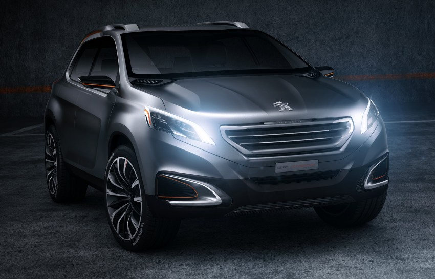 Peugeot Urban Crossover Concept hints at the future Image #102521