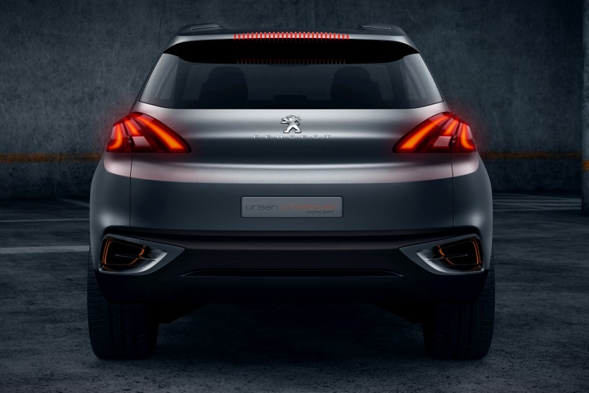 Peugeot Urban Crossover Concept hints at the future Image #102522