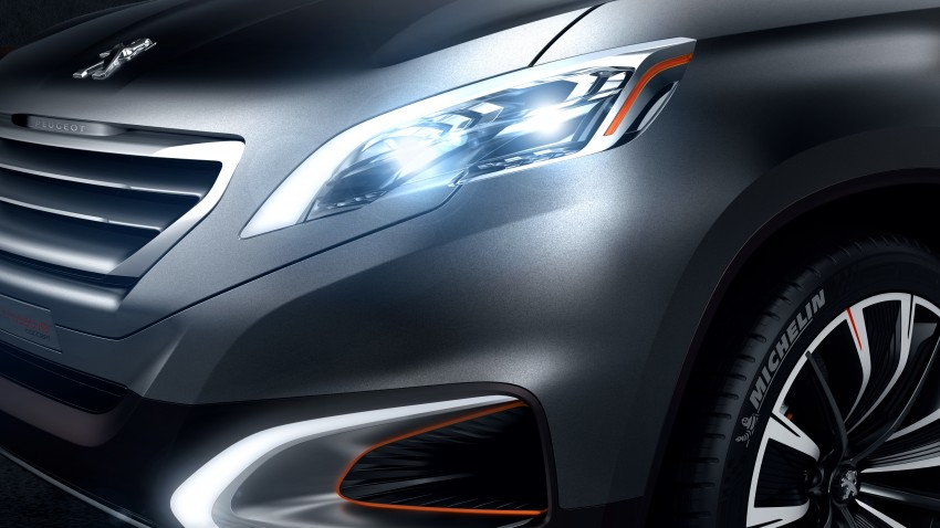 Peugeot Urban Crossover Concept hints at the future Image #102512