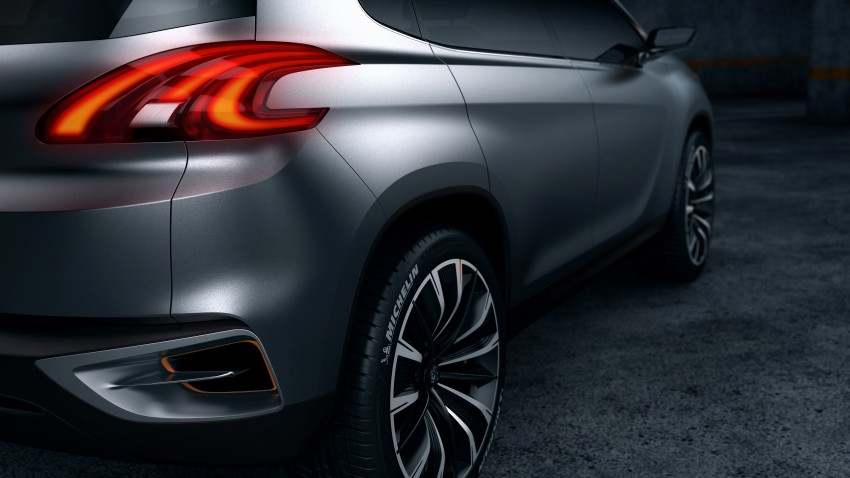 Peugeot Urban Crossover Concept hints at the future Image #102513