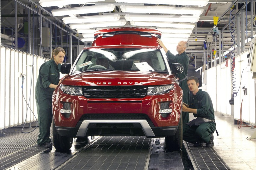 Jaguar Land Rover starts 24-hour production at Halewood to meet global Evoque demand Image #125416