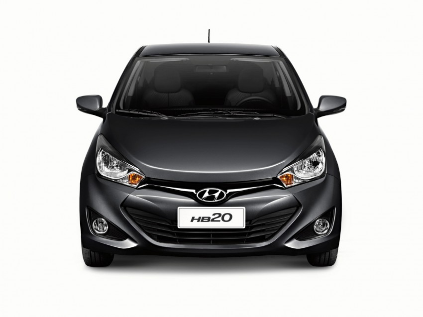 Hyundai HB20X crossover joins the Brazilian line-up Image #137761