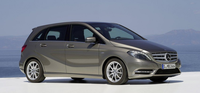 All-new Mercedes-Benz B-Class officially revealed! Image #66135