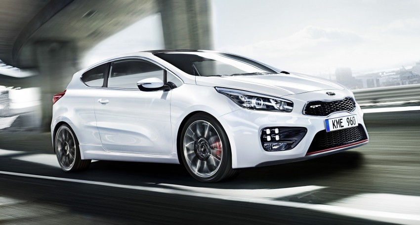 Kia cee'd GT and pro_cee'd GT to debut at Geneva Image #151410