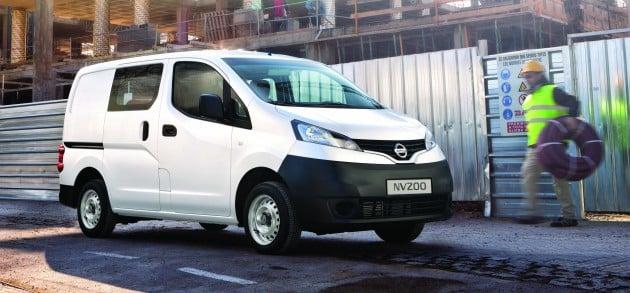 Nissan NV200 Semi Panel Van Launched