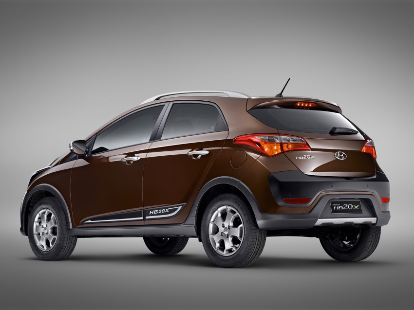 Hyundai HB20X crossover joins the Brazilian line-up Image #137763
