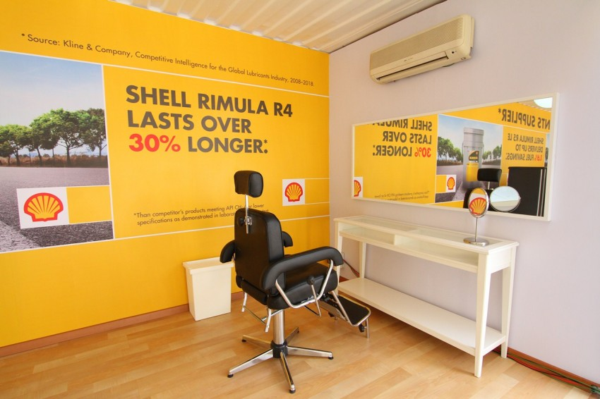 Shell Rimula Hardworking Truck – change of venue Image #115042
