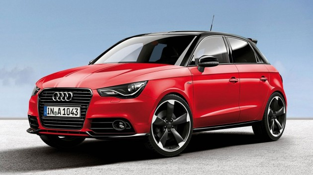 audi a1 amplified editions two colours three levels. Black Bedroom Furniture Sets. Home Design Ideas