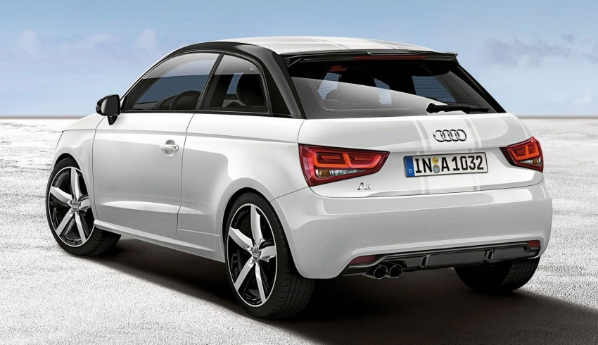 Audi A1 Amplified editions – two colours, three levels Image #112700