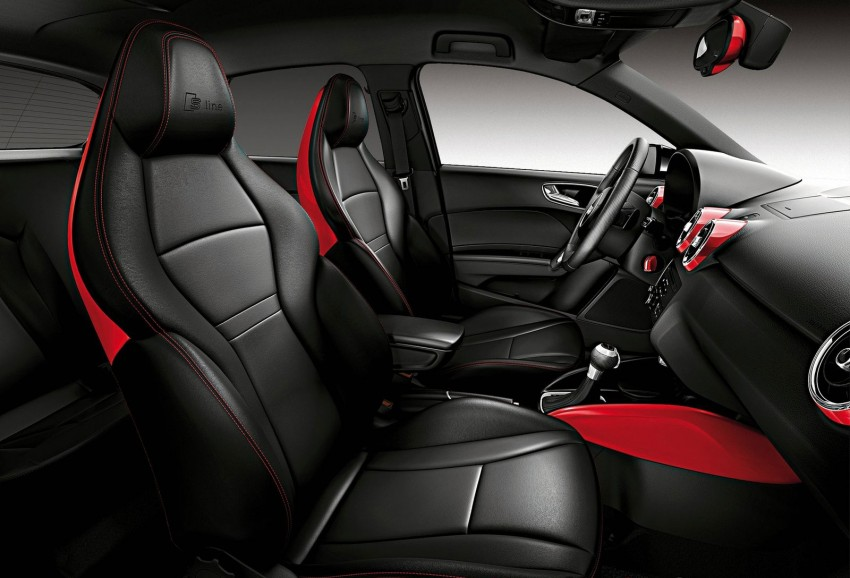 Audi A1 Amplified editions – two colours, three levels Image #112702