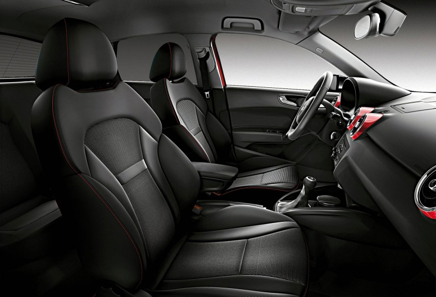 Audi A1 Amplified editions – two colours, three levels Image #112703
