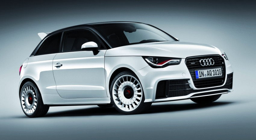 Audi A1 quattro: 256 hp and 350 Nm, only 333 units Image #81114