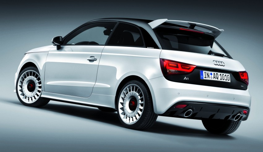 Audi A1 quattro: 256 hp and 350 Nm, only 333 units Image #81115