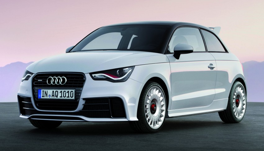 Audi A1 quattro: 256 hp and 350 Nm, only 333 units Image #81109