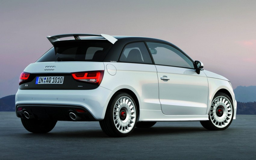 Audi A1 quattro: 256 hp and 350 Nm, only 333 units Image #81110