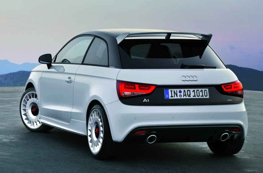 Audi A1 quattro: 256 hp and 350 Nm, only 333 units Image #81111