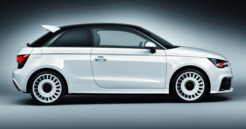Audi A1 quattro: 256 hp and 350 Nm, only 333 units Image #81113